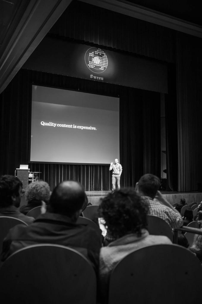 WordCamp Europe - Vitaly Friedman on Stage