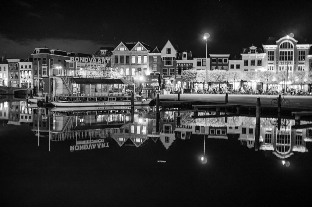 Night View of Leiden