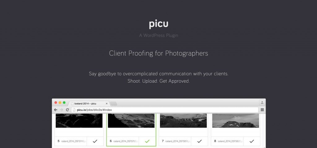 picu - Client Proofing for Photographers